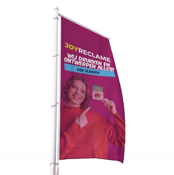 baniervlaggen bedrukken, baniervlag met opdruk